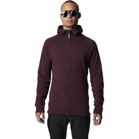 Houdini Wooler Houdi Jacket Herre rasberry rush red
